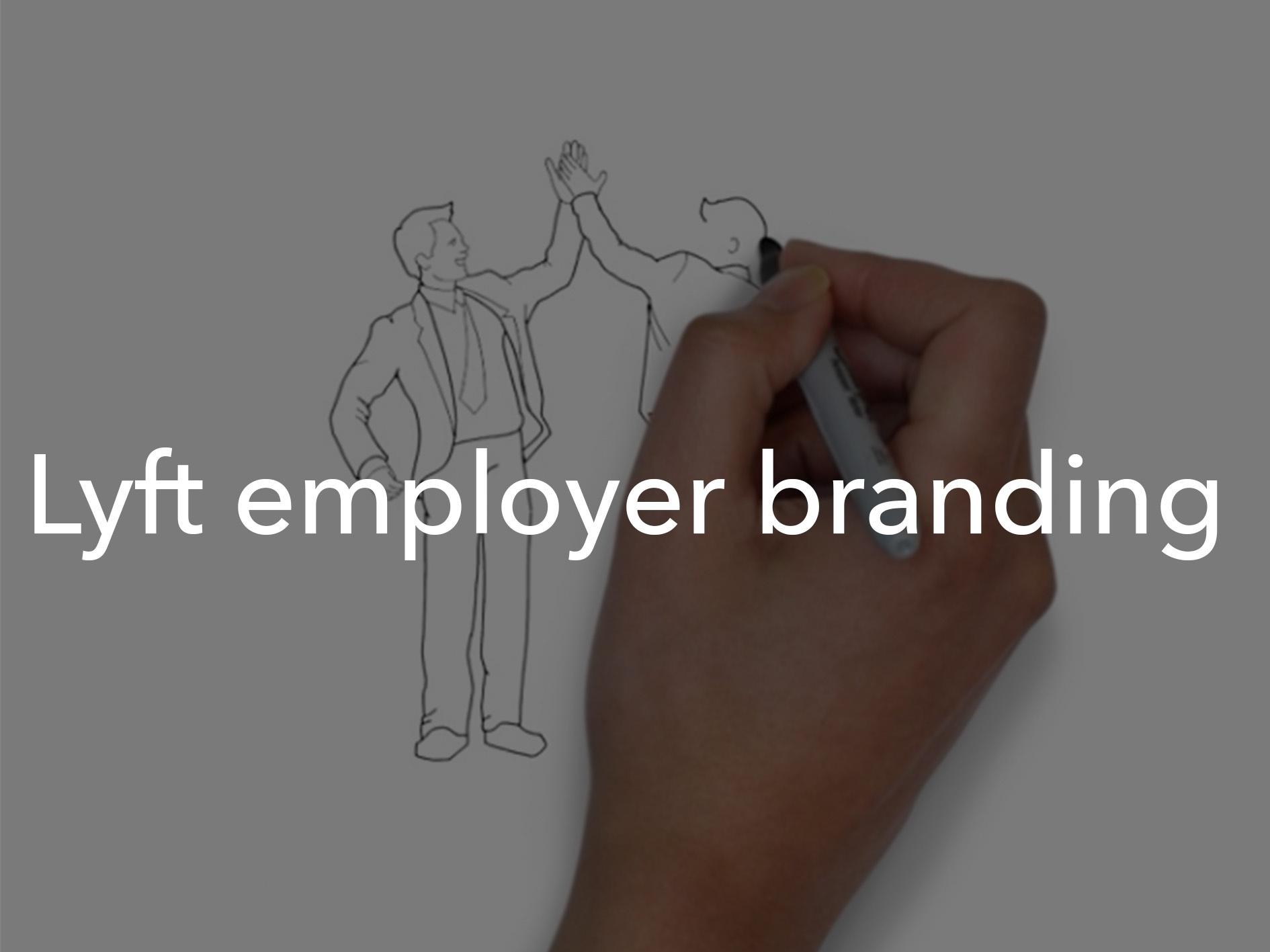Lyft employer branding